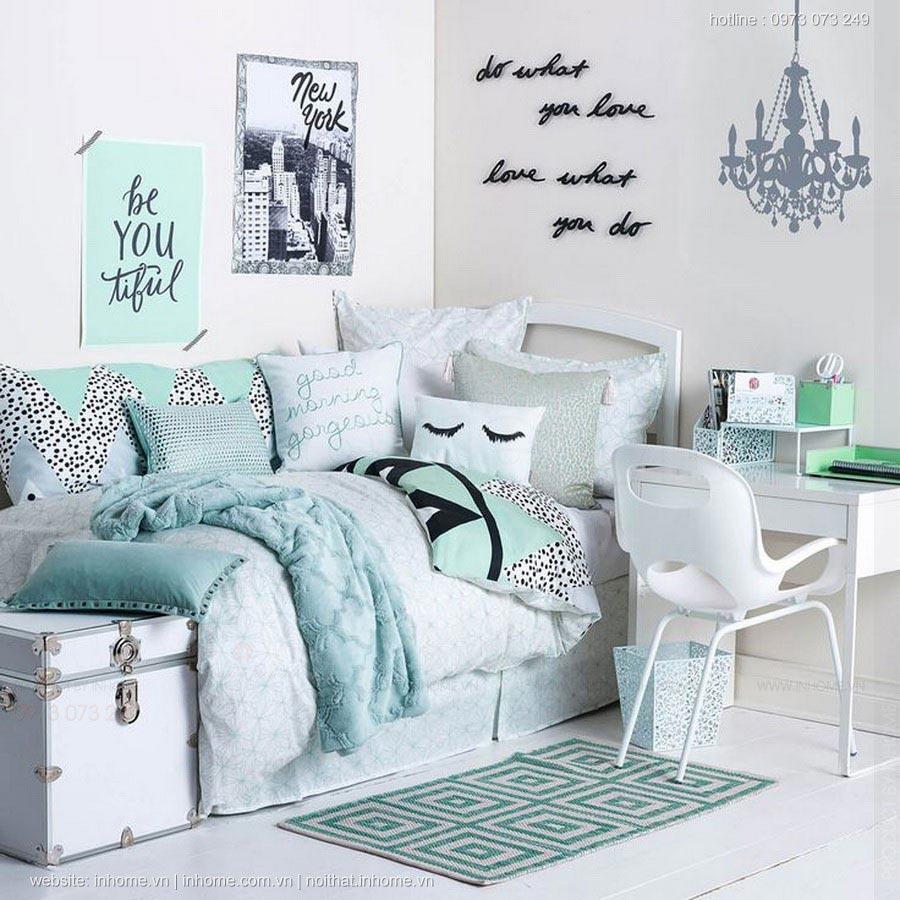 Thiết kế căn phòng cho bạn gái tuổi teen