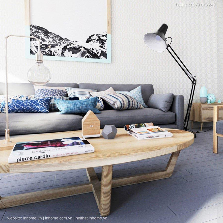 Phòng khách với Sofa hiện đại