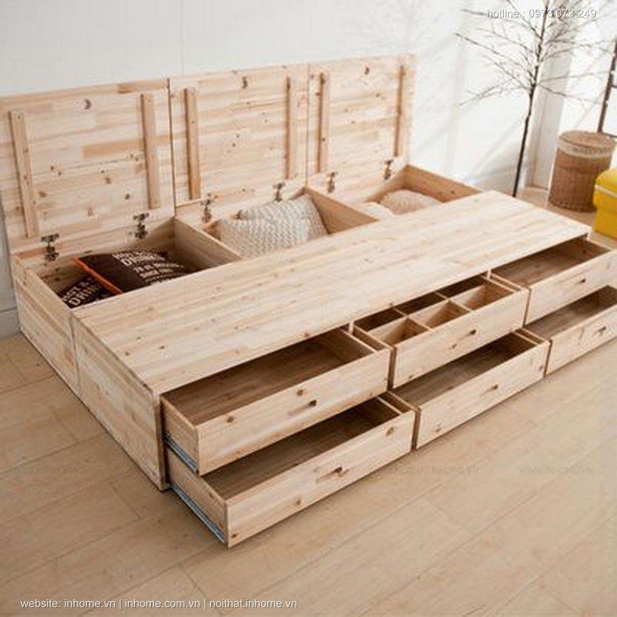 Tiện ích đựng đồ dưới gầm giường