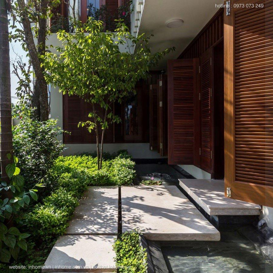 Thiết kế nhà trên mảnh đất méo