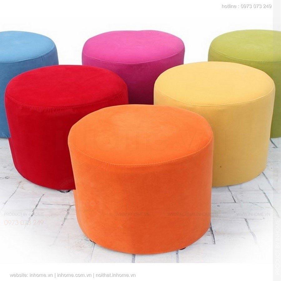 Những chiếc ghế dễ thương như kẹo ngọt