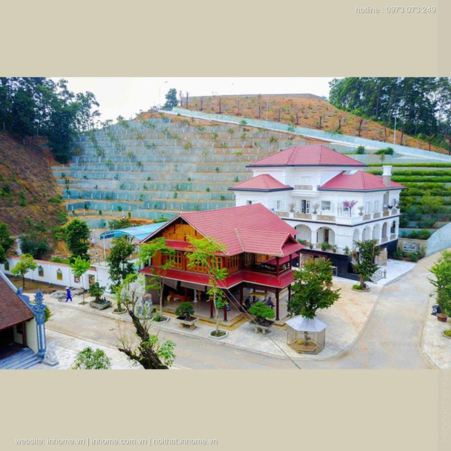 Ngắm biệt thự khủng của Giám đốc Sở TNMT tỉnh Yên Bái