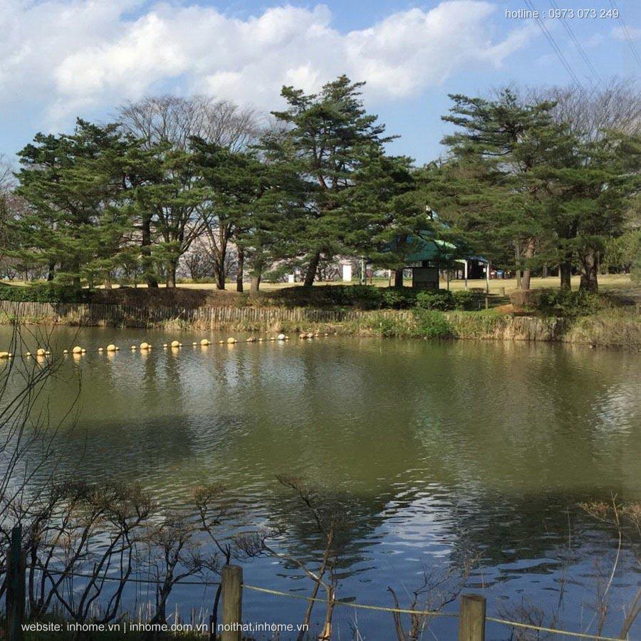 Thiết kế cảnh quan công viên ở Nhật có gì đang chú ý hơn Việt Nam