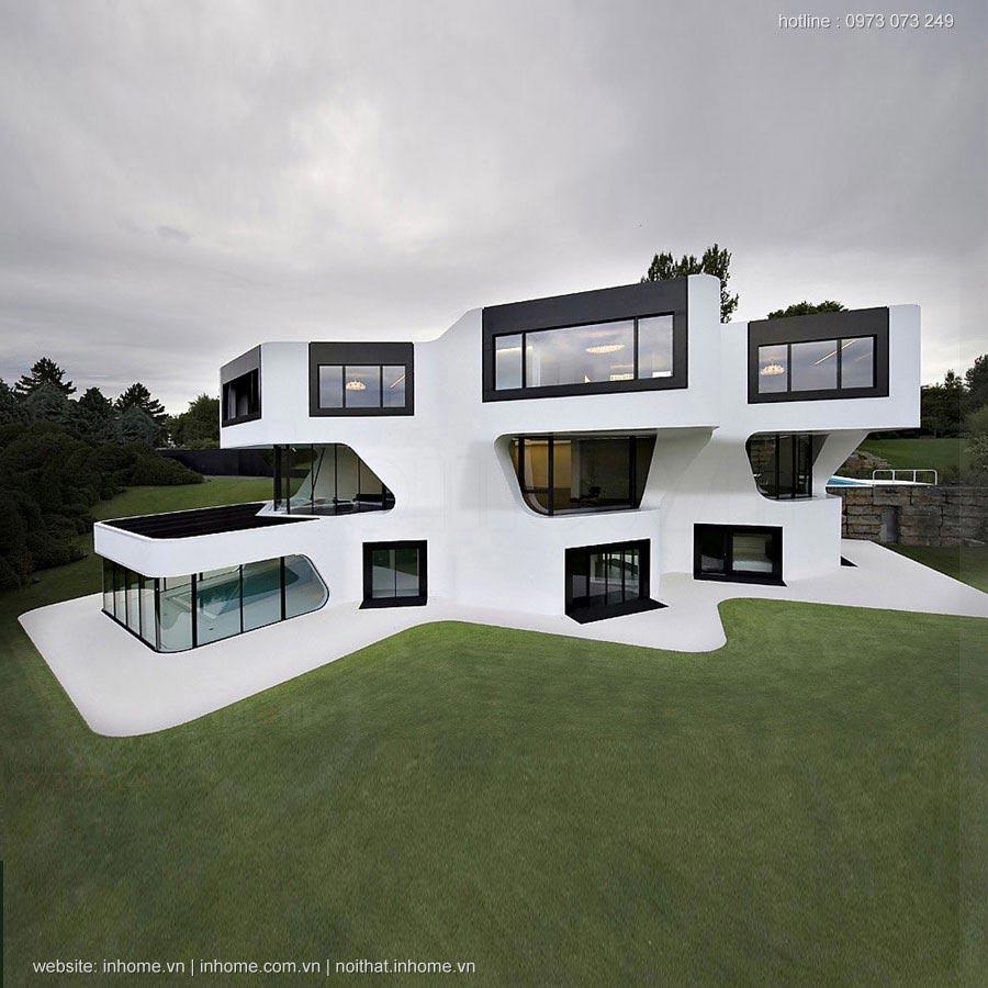 Top 55 mẫu thiết kế nhà đẹp hiện đại nhất từ trước đến nay