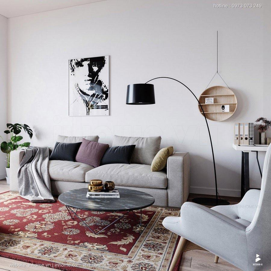 26 Mẫu thiết kế nội thất phòng khách nhỏ đẹp