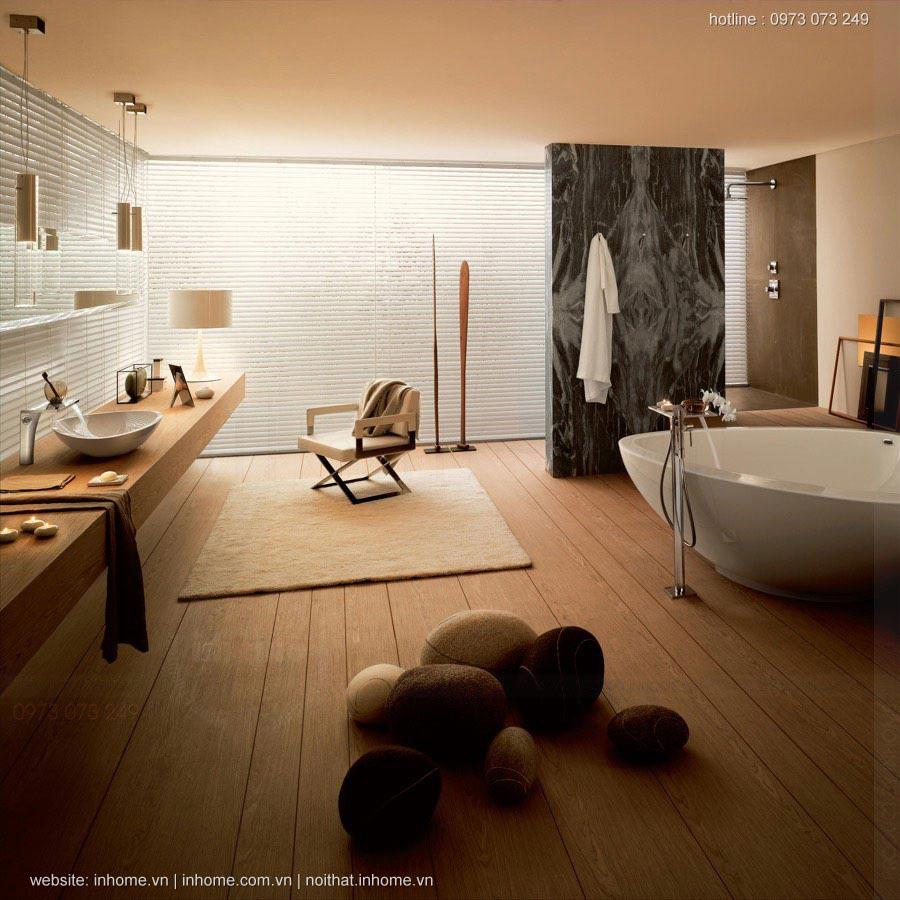 36 Mẫu thiết kế nội thất phòng tắm đẹp đơn giản của tương lai
