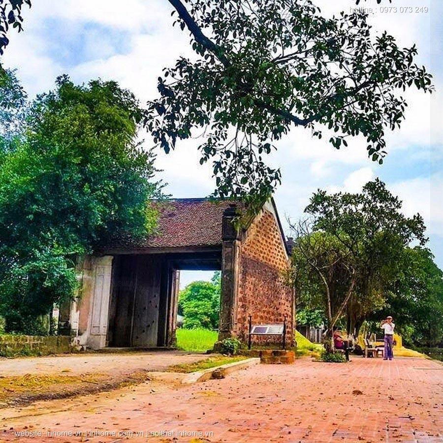 Làng cổ Đường Lâm thoát khỏi nắng nóng nhờ kiến trúc cổ