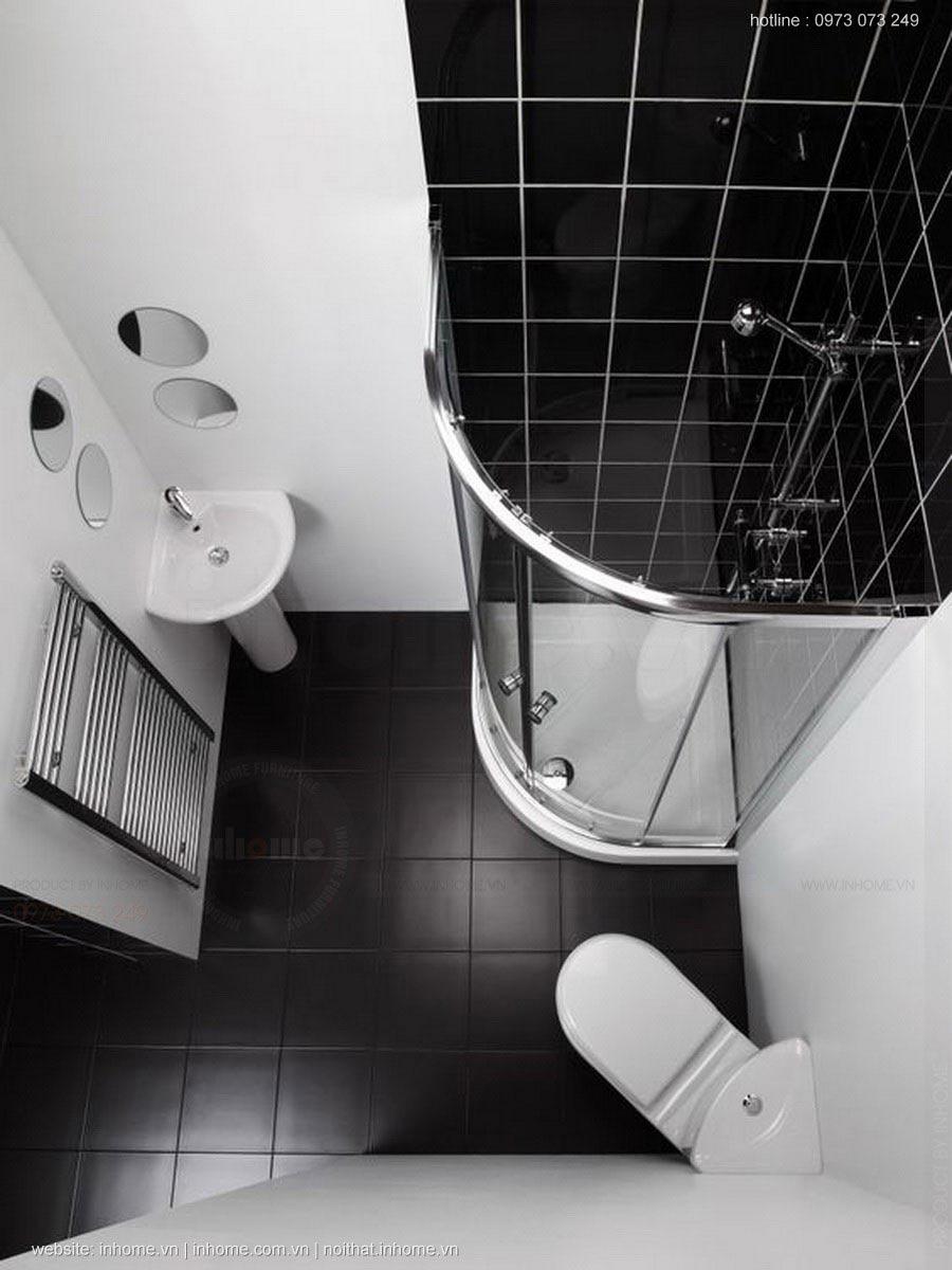 Thiết kế nội thất phòng tắm đẹp cho chung cư