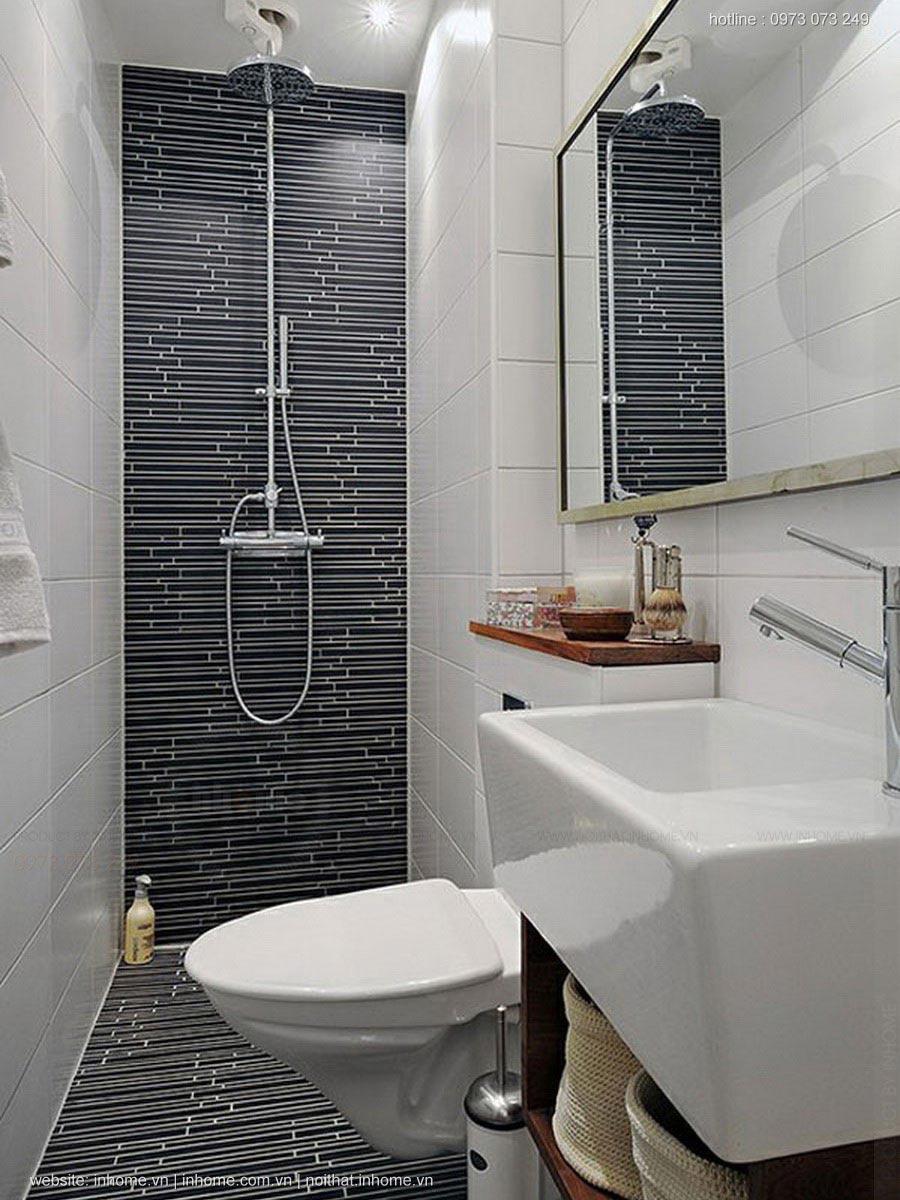 Thiết kế phòng tắm 4m2 đầy đủ tiện nghi rộng rãi thoải mái