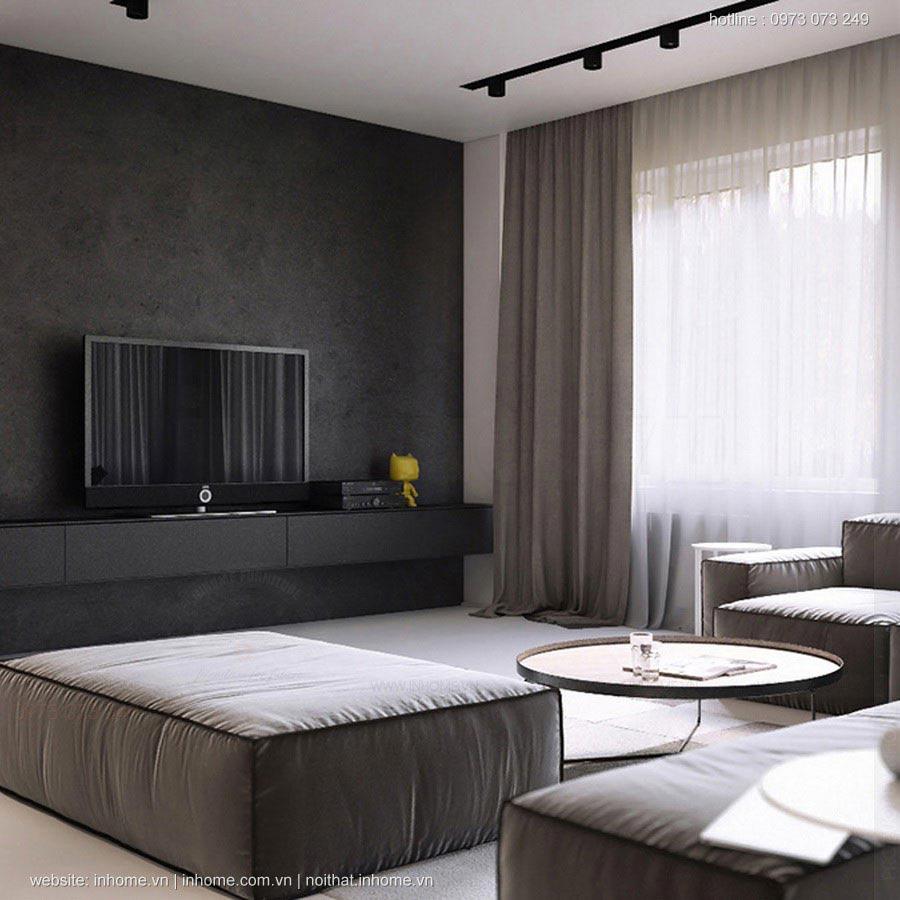 19 thiết kế nội thất phòng khách chung cư đẹp dưới 150 triệu
