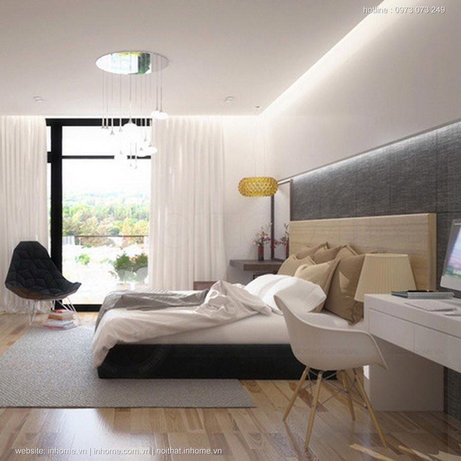 Mẫu nhà ống đẹp 3 tầng full nội thất vẫn có không gian xanh trong nhà
