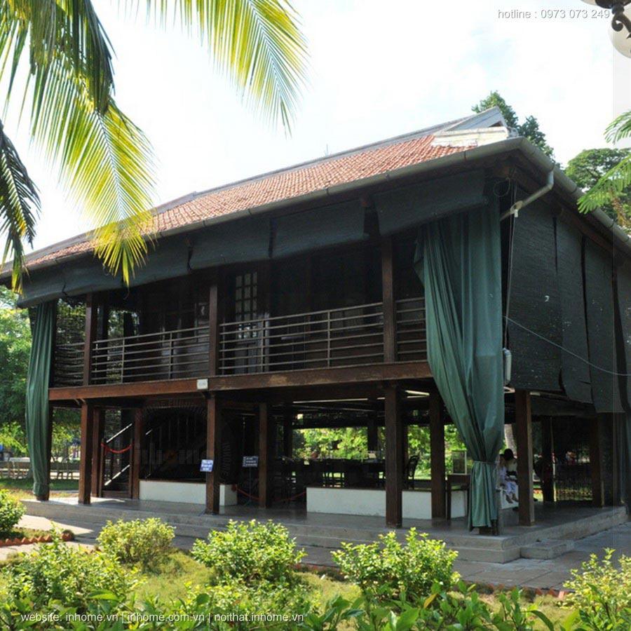 Người thiết kế ngôi nhà sàn Bác Hồ tại Phủ Chủ Tịch