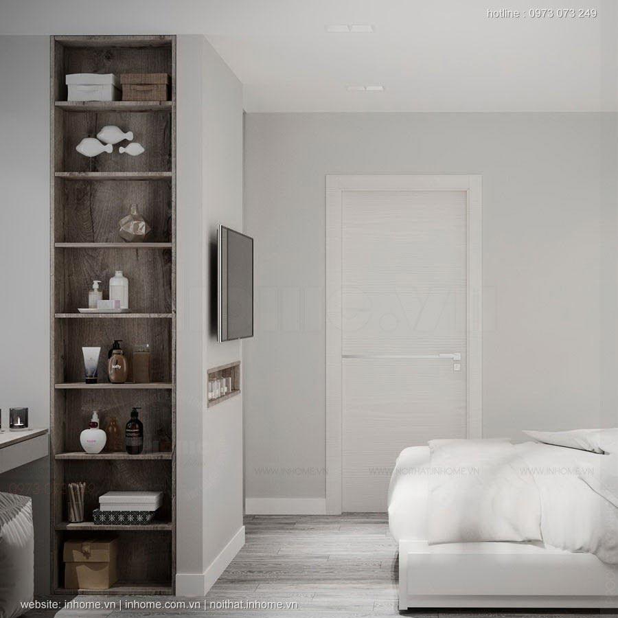 Thiết kế nội thất chung cư 63m2 đẹp mê li