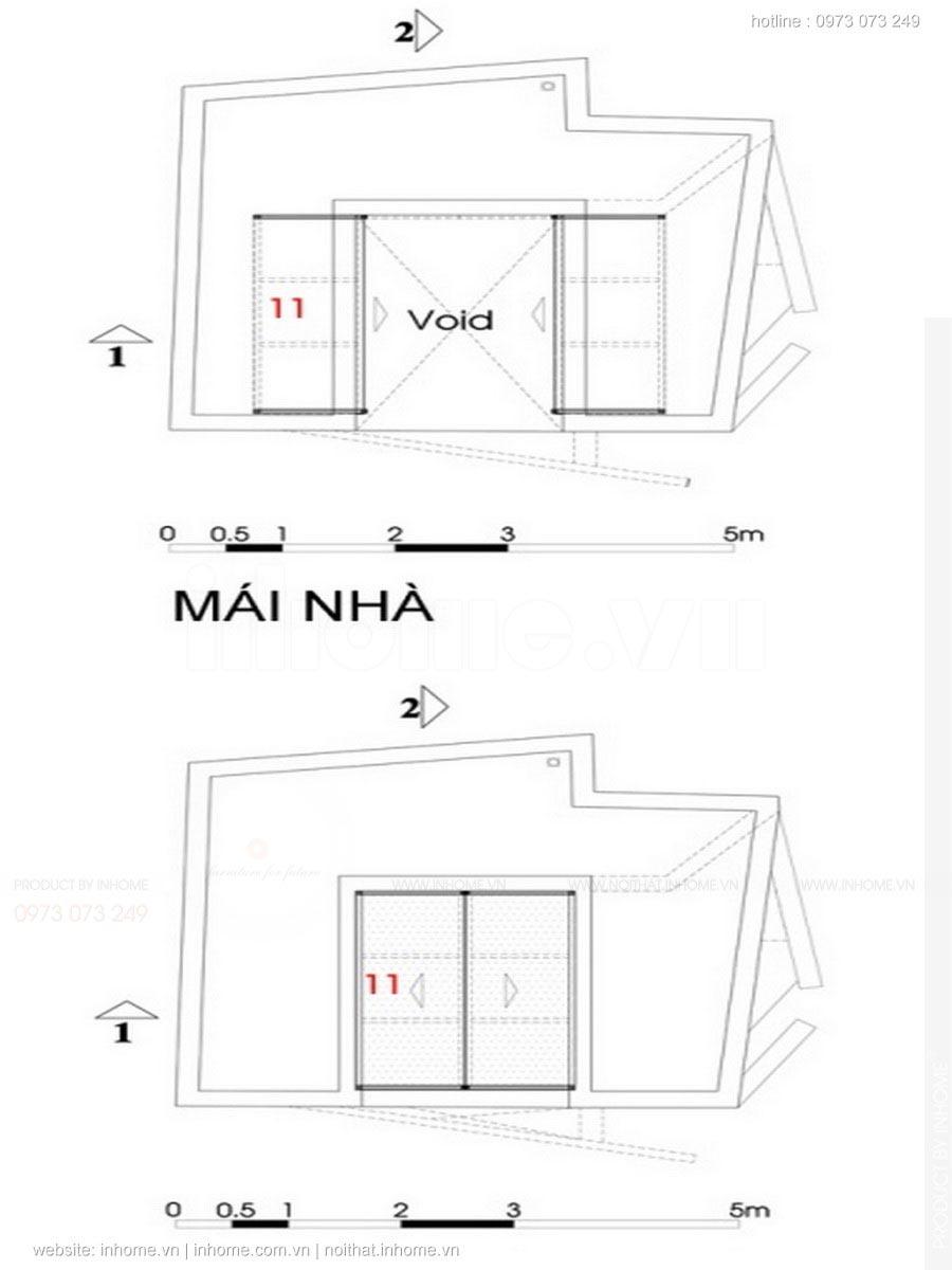 Căn nhà 27m2 có 1 không 2 nổi bật giữa phố