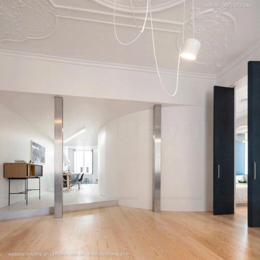Mẫu thiết kế nội thất chung cư 120m2 chưa từng có ở Việt Nam