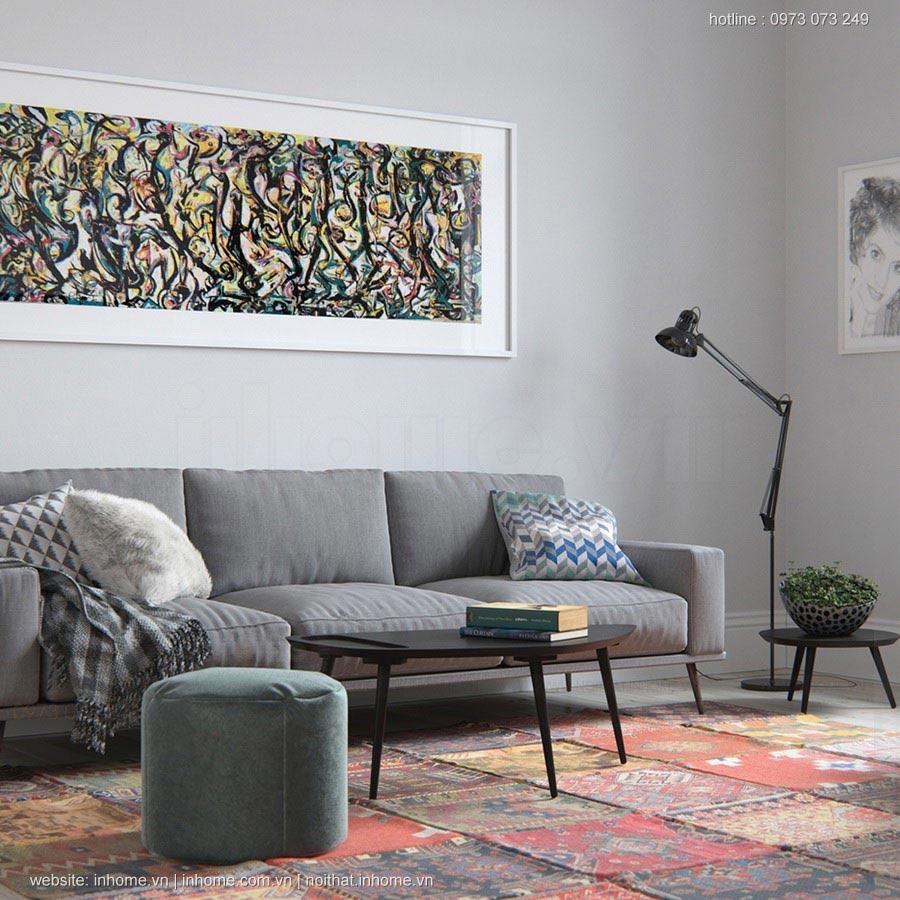 Thiết kế nội thất chung cư 87m2 tiện dụng, thẩm mỹ cao