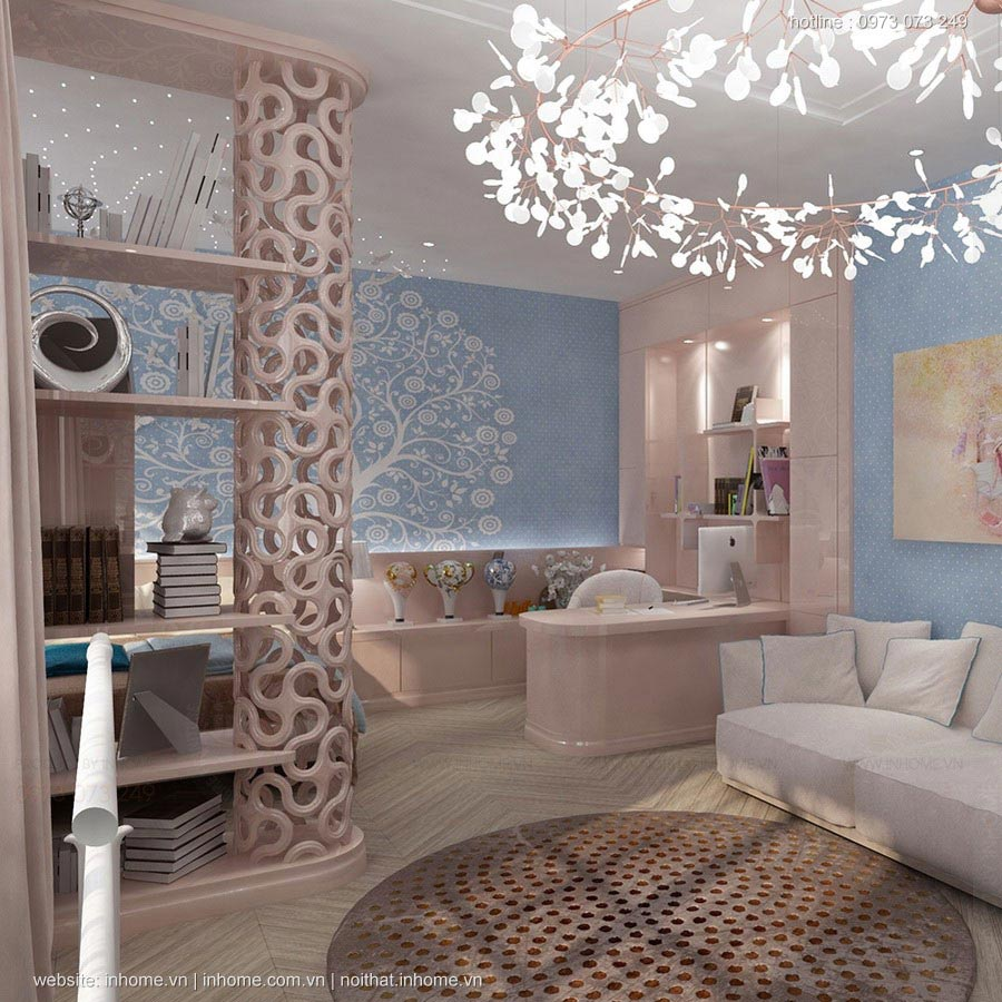 Thiết kế nội thất chung cư 88m2 cao cấp hiện đại như khách sạn 7 sao