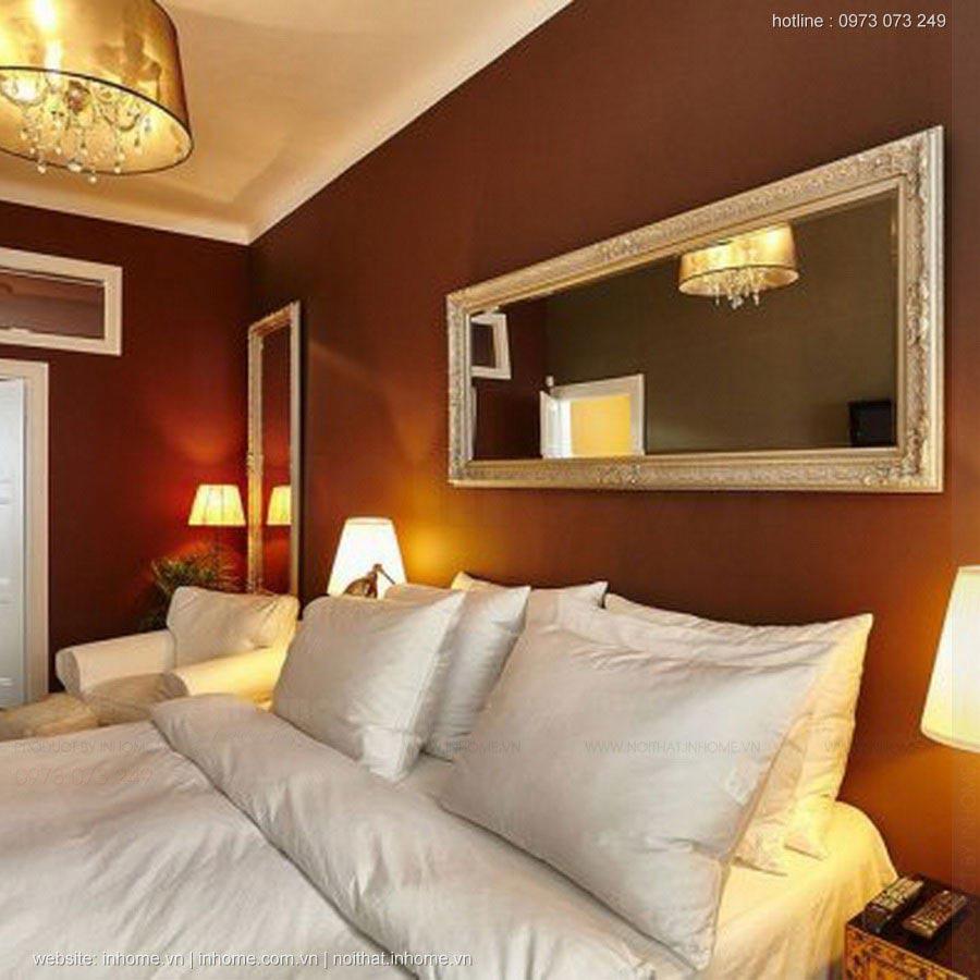 Thiết kế nội thất chung cư 96m2 vừa cổ điển vừa hiện đại