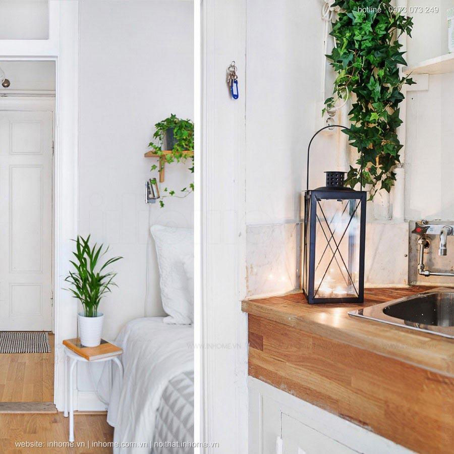 Thiết kế nội thất chung cư 55m2 đẹp đẳng cấp