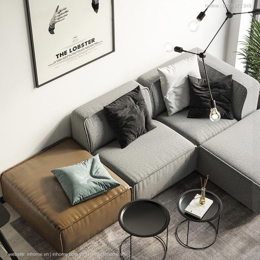 Thiết kế nội thất chung cư 75m2 đẹp hiện đại phong cách