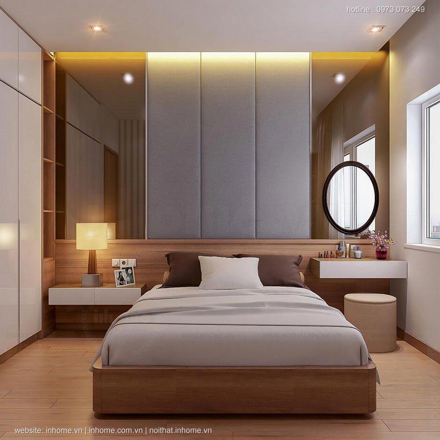 Thiết kế nội thất chung cư 85m2 3 phòng ngủ đẹp độc đáo 05