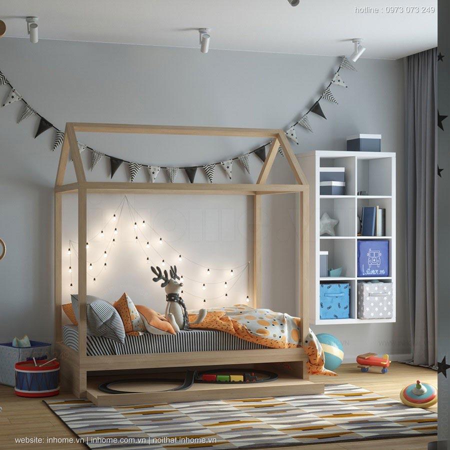 Thiết kế nội thất chung cư 95m2 đẹp độc đáo, tiện nghi