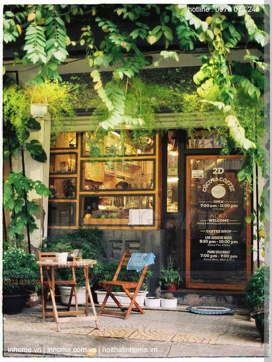 Tư vấn thiết kế quán cafe diện tích nhỏ đẹp độc đáo