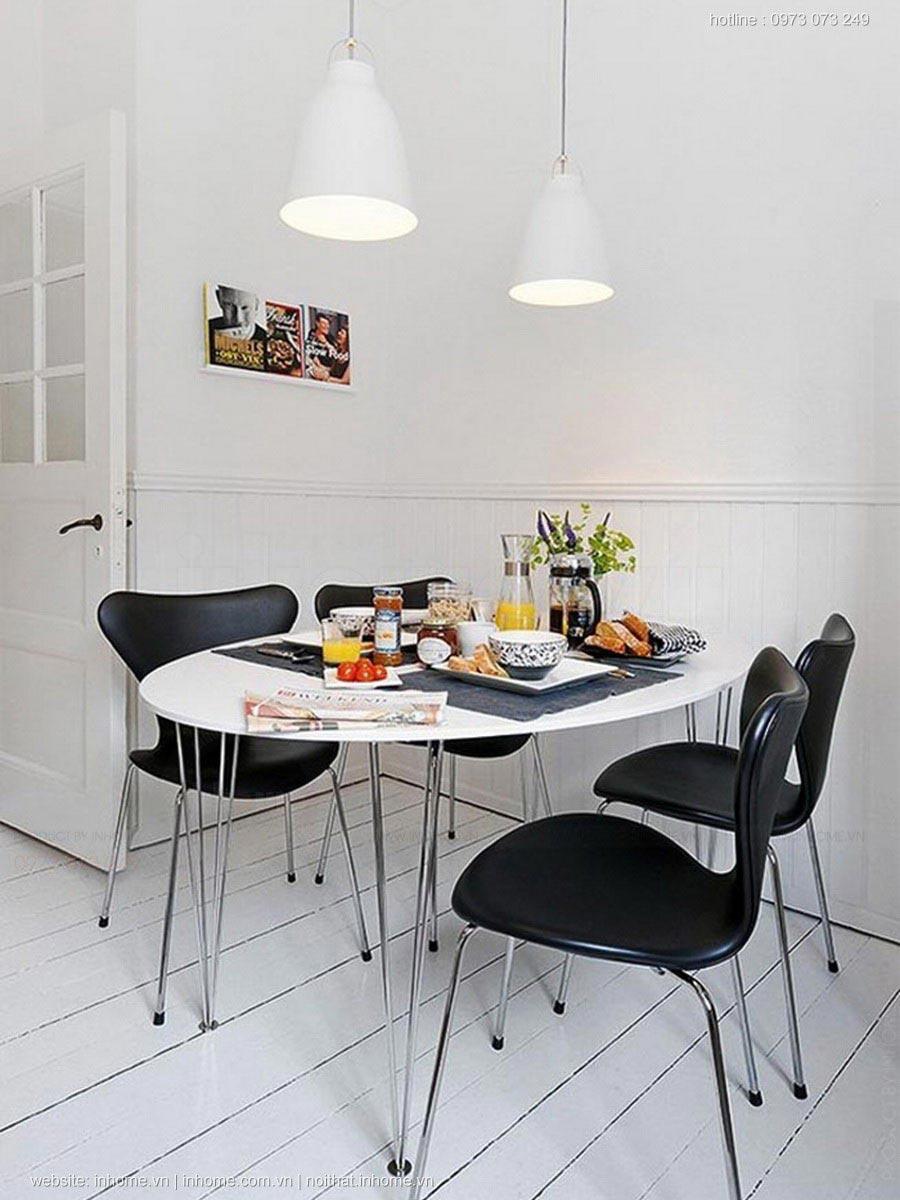 Nhà nhỏ và cách bài trí phòng ăn cực chuẩn