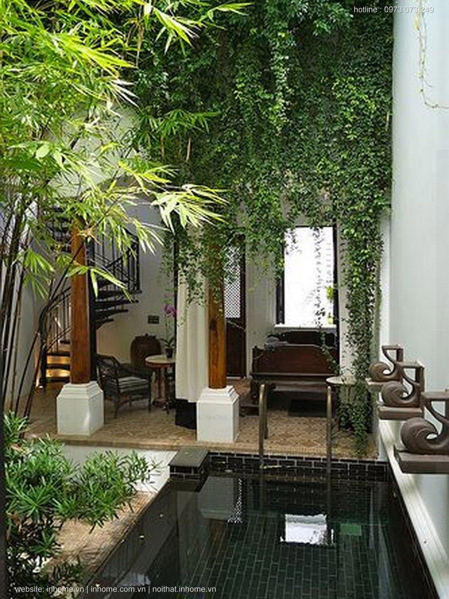Sân vườn tiểu cảnh đẹp cho không gian ngôi nhà bạn
