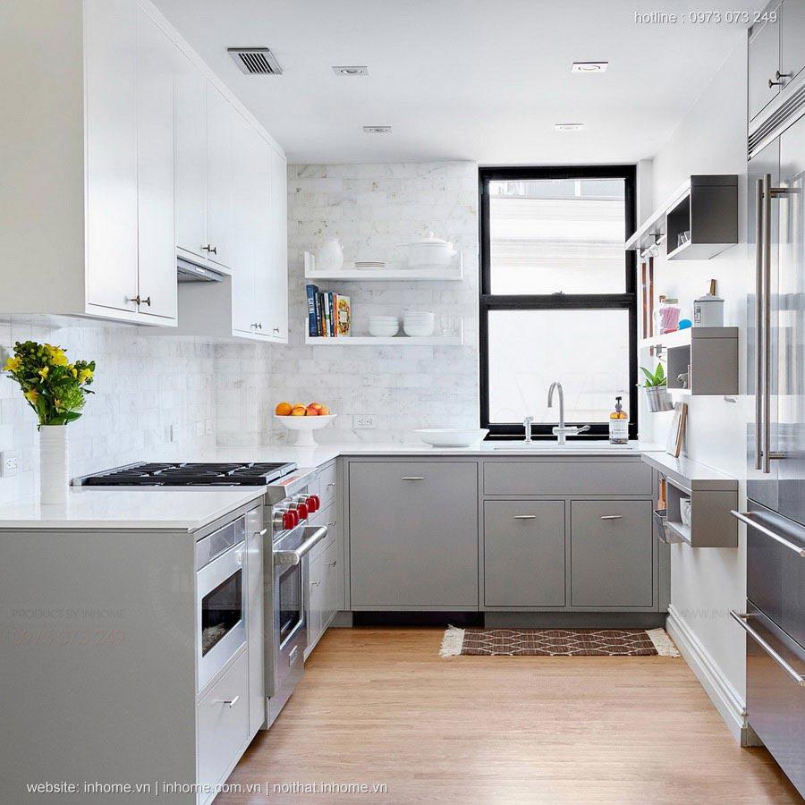 Thiết kế bếp cho căn hộ chung cư theo khoa học phong thủy