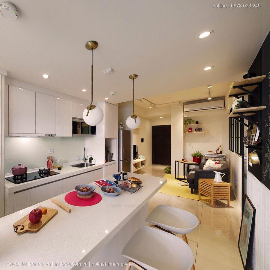 Thiết kế nội thất chung cư diện tích nhà nhỏ cần ghi chú