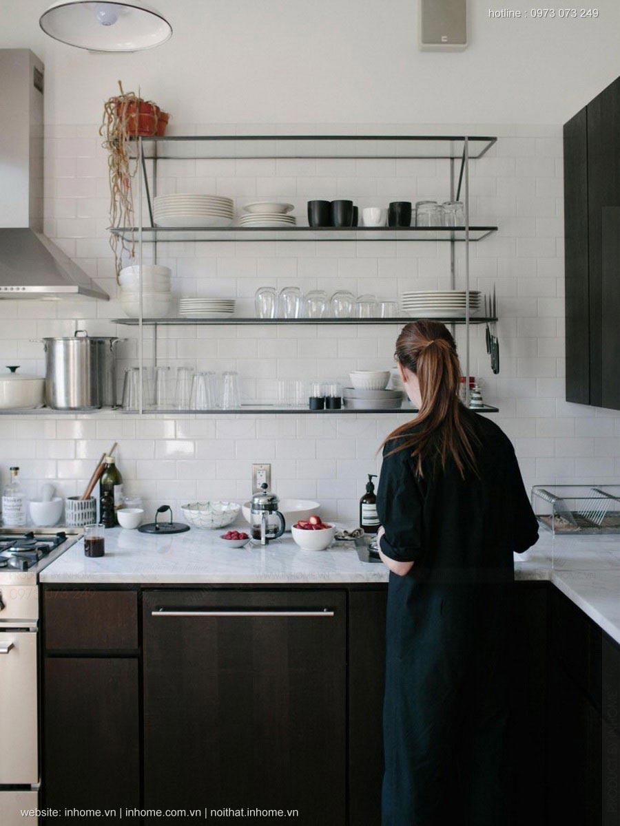 Thiết kế nội thất không gian bếp cho cặp vợ chồng trẻ