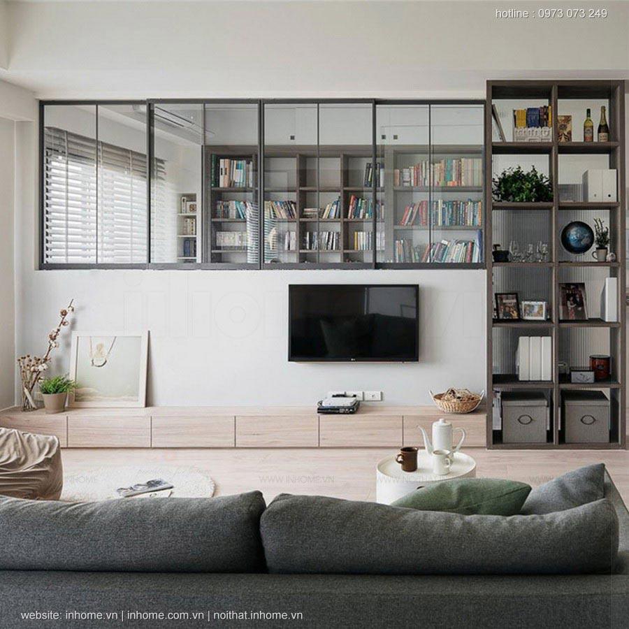 Thiết kế nội thất phòng khách sang trọng hiện đại