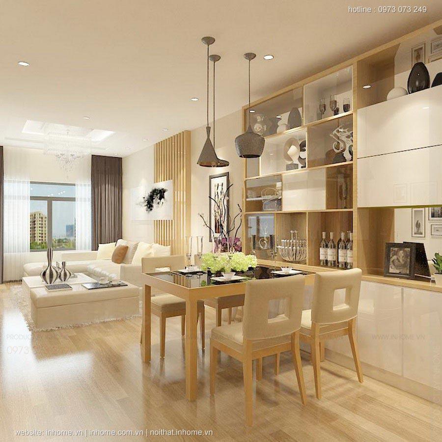 Tiêu chuẩn thiết kế nội thất căn hộ đẹp cho chung cư