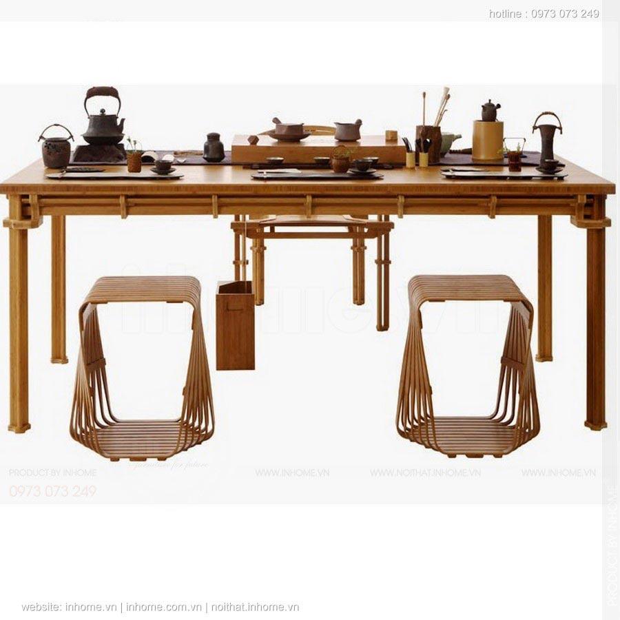 Bộ sưu tập đồ nội thất tre và gốm của Jeff Da-yu Shi