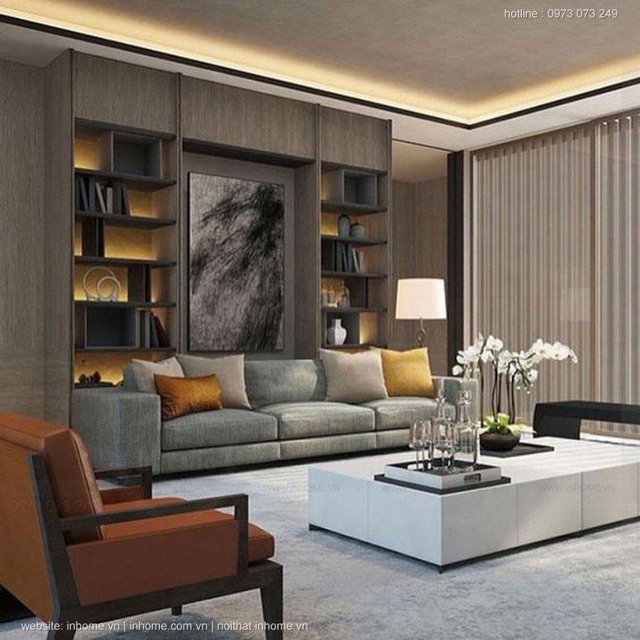 Những mẫu thiết kế nội thất phòng khách chung cư hiện đại