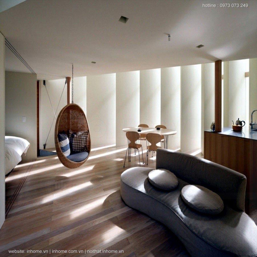 Phong cách thiết kế nội thất đặc trưng của Nhật Bản