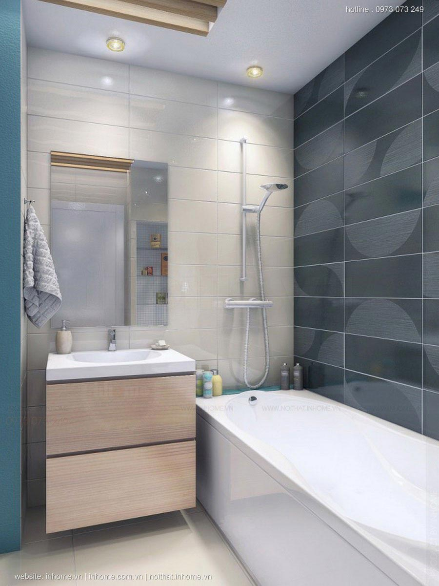 Thiết kế nội thất chung cư 62m2 thoáng đãng và đẹp đẽ