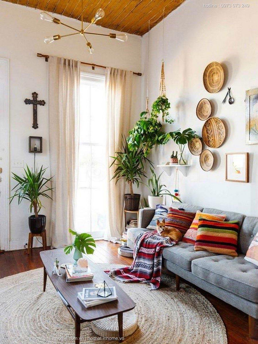 Tư vấn thiết kế nội thất phòng khách chung cư nhỏ mà đẹp