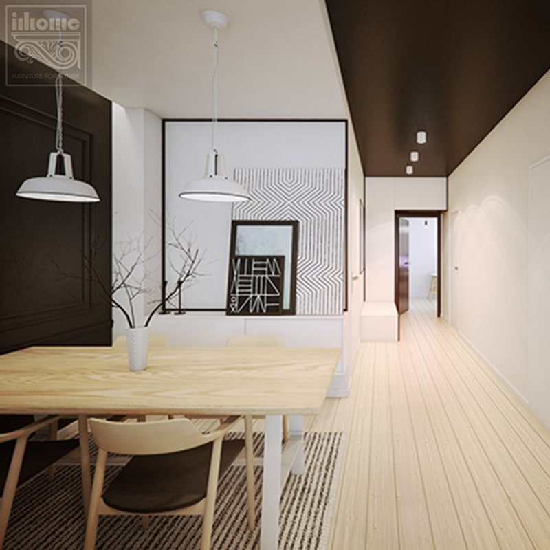 Phong cách thiết kế nội thất chung cư tối giản