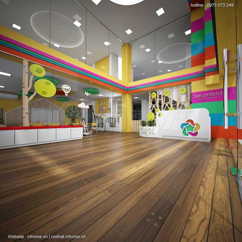 Thiết kế trường mầm non Hải Phòng