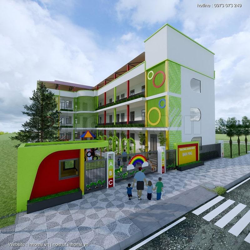 Trường mầm non Sao Mai - Sơn La
