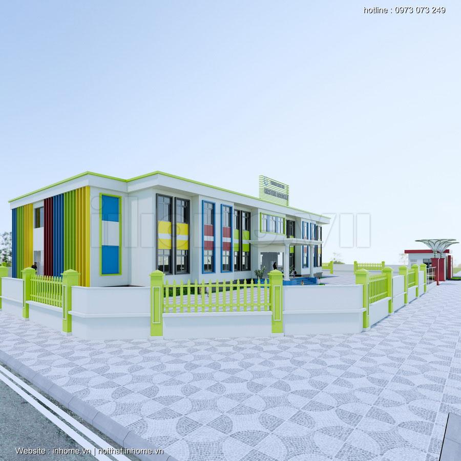 Thiết kế Trường mầm non Quốc tế Einstein Academy