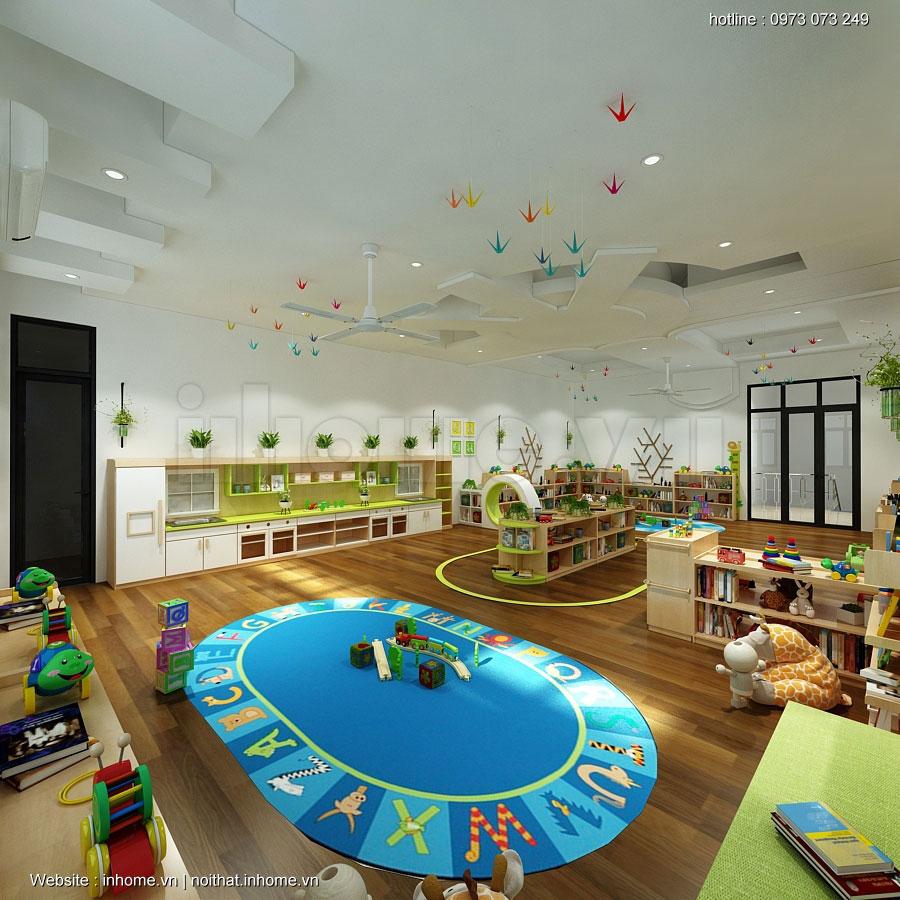 Thiết kế lớp học Montessori