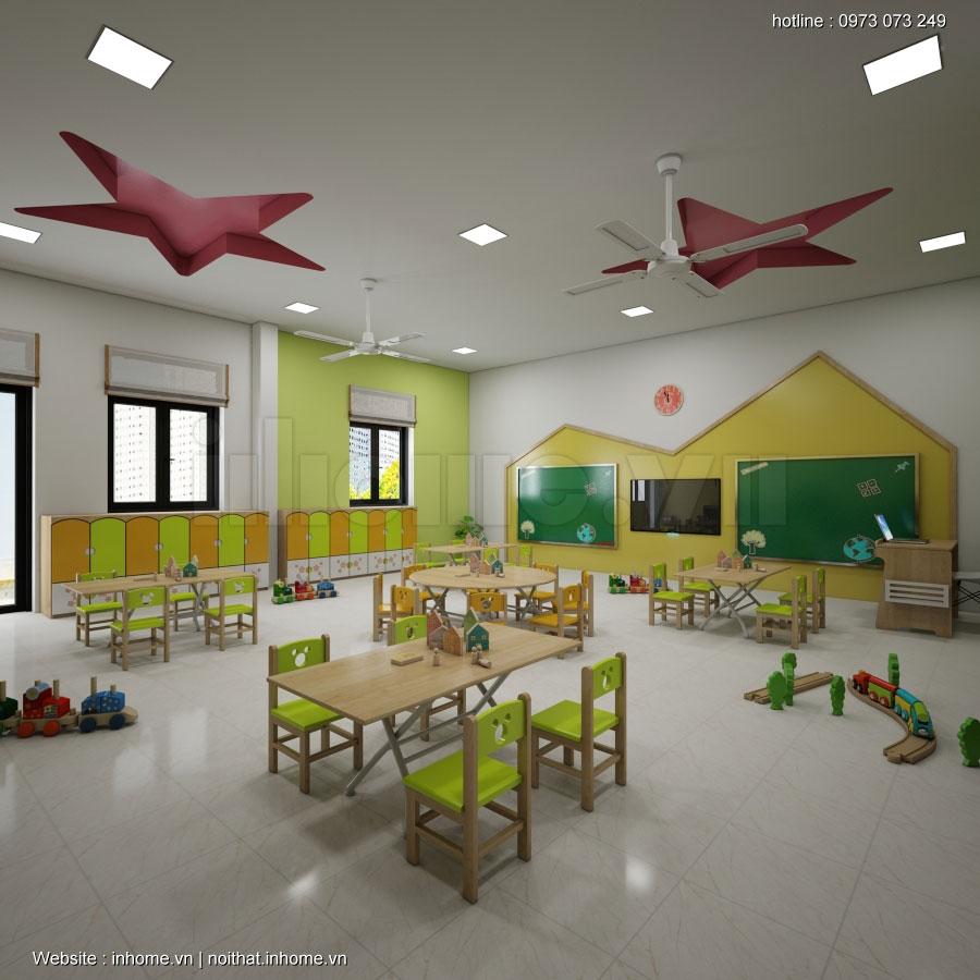 Thiết kế trường mầm non Sao Mai - Sơn La 07