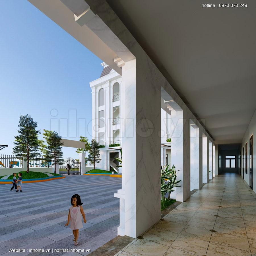 Thiết kế trường Sao Việt-Hải Phòng